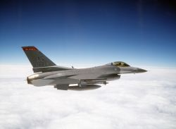 F-16C - Going home Photo
