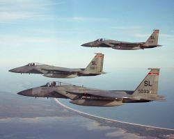 F-15A Eagles - Eagle flight Photo