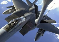 F-15C - Ocean refueling Photo