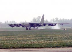 B-52H Stratofortress - Buff touch down Photo