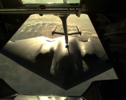 B-2 Spirit bomber - Fill up the tank Photo