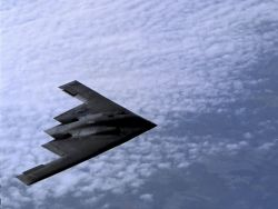 B-2 Spirit bomber - Open flight Photo