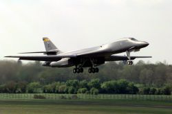 B-1B Lancer - The Lancer is in the air Photo
