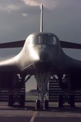B-1B Lancers - Forward deployed Lancers Photo