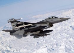 F-16 C/J Fighting Falcon - Snow capped mission Photo