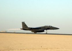 F-15E Strike Eagles - Deployed fighters Photo
