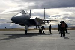 F-15 Eagle - Maintainers' mission Photo
