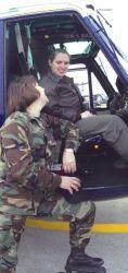 UH-1N - Mother, daughter reunite Photo