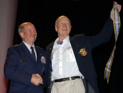 Candy Bomber - Air Force authorizes Berlin Airlift streamers Photo