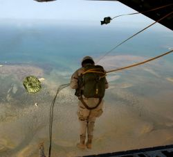 HC-130 - Over Africa Photo