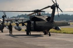 UH-60 Black Hawk - Guatemala relief aid Photo
