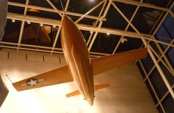 Bell X-1 - General Yeager speaks at Smithsonian Photo