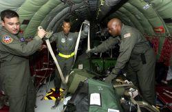 KC-135 - Cargo tie-down Photo