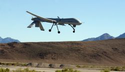 MQ-1 Predator - Predator flies unprecedented combat flight hours Photo