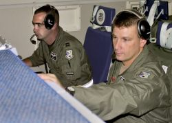 E-3 Sentry - 552nd Air Control Wing supports hurricane relief efforts Photo