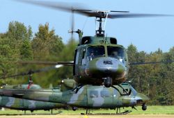 UH-1N - AFSPC helicopter deployment aids Hurricane Katrina relief efforts Photo