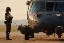 HH-60G - Airmen 'pave' way for help Photo
