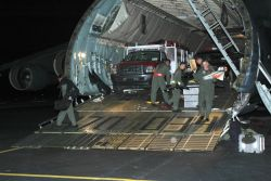 C-5 Galaxy - AMC answering humanitarian call in aftermath of Katrina Photo