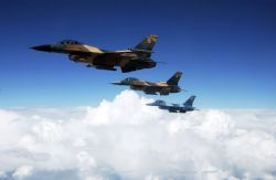 F-16 - Flying colors Photo