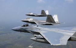 F/A-22 Raptors - Raptor presence Photo