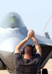 F/A-22 Raptor - Raptor practice Photo