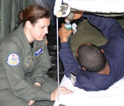 C-130 Hercules - Team effort brings America's wounded troops home Photo