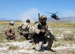 HH-60G - Desert landing Photo