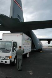 C-130J Hercules - Reservists airlift dolphin to Florida Photo