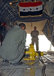 C-130s - Airmen teach C-130 ops to Iraqi students, learn about sacrifice Photo