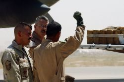C-130 Hercules - Airmen teach C-130 ops to Iraqi students, learn about sacrifice Photo