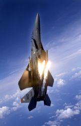 F-15E Strike Eagle - Flying high Photo