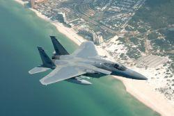 F-15 Eagle - Beach Eagle Photo