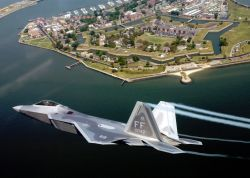 F-22A Raptor - Special delivery Photo