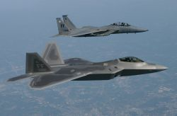 F/A-22 Raptor - Special delivery Photo