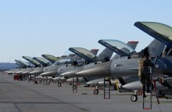 F-16 - Bird line Photo