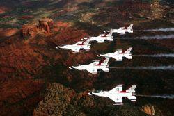 Thunderbirds - Six show birds Photo