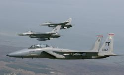 F-15 Eagle - Birds of a feather ... Photo