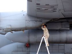 C-130 Hercules - Searching high and low Photo