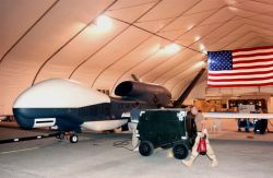 Global Hawk - Pilots make long commute to Global Hawk University Photo