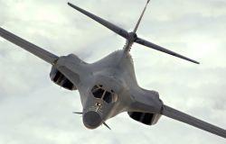 B-1B Lancer - Lancer in flight Photo