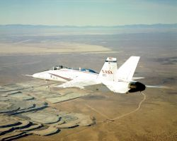 F/A-18 - Wing warping could change shape of future aircraft Photo