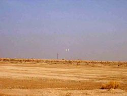 Desert Hawk - Desert Hawk UAV patrols Tallil Photo