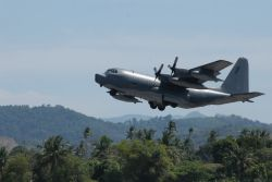 MC-130P - AFSOC unit wraps up Asian aid mission Photo
