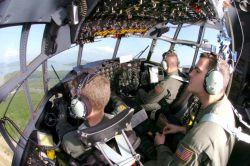 C-130 Hercules - Yokota C-130s continue to fly aid to tsunami victims Photo