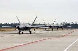 F/A-22 Raptors - More Raptors have landed Photo