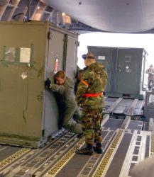 C-17 - Yokota Airmen keep steady pace in providing relief Photo
