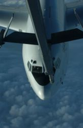 E-8C - Christmas refuel Photo