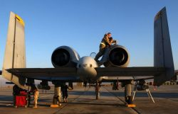A-10 Thunderbolt II - Crew chief for a day Photo
