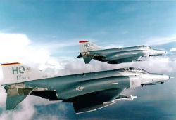 F-4F Phantom II - 'Silver Lobos' fly into retirement Photo