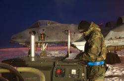 O/A-10 Thunderbolt II - Baby, it's cold outside Photo